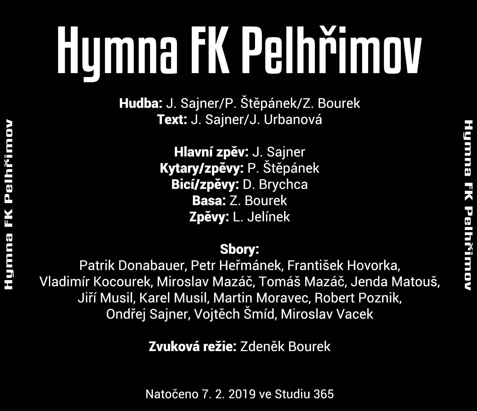 Slova hymny FK Pelhřimov